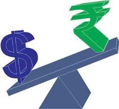 rupee depreciates against dollar